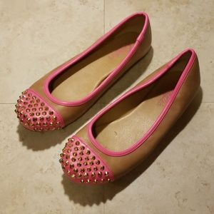 Candie's faux leather flats